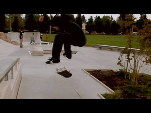 Skateboarding @ Ed Benedict w/ Tyson Reynolds, Mikey Calcagno, & Trevor Brown