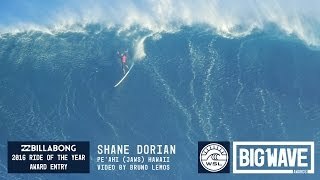 Shane Dorian at Jaws 1 - 2016 Billabong Ride of the Year Entry - WSL Big Wave Awards