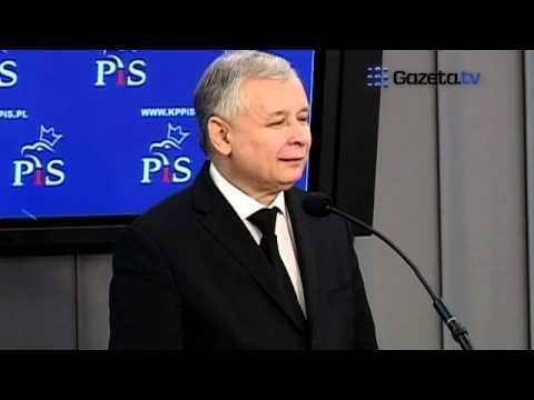 TV jaja - Kaczyński o błędzie Komorowskiego - trzeba wprowadzić dyktanda?