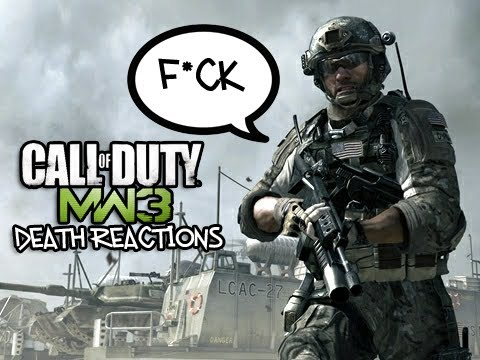 MW3 - Death Reaction Montage 1! (MW3 Funny)