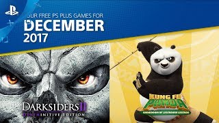 PlayStation Plus - Free PS4 Games Lineup December 2017 | PS4