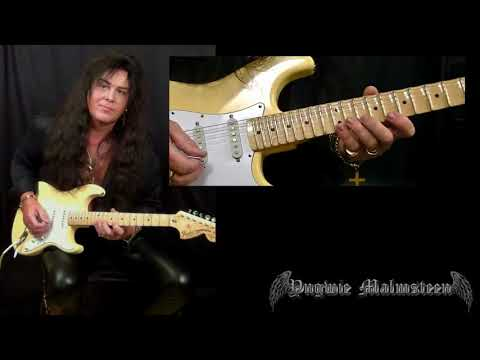 Yngwie Malmsteen Lesson - Scales And Keys