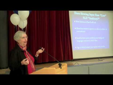 Dr. Martha Denckla speaks at McLean School of Maryland - 01/15/2013