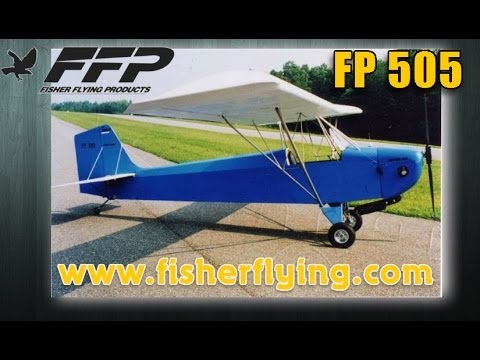 FP 505. Fisher Flying FP 505 Skeeter all wood ultralight aircraft or experimental aircraft.