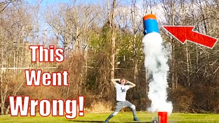 Giant Nerf Dart Launch!