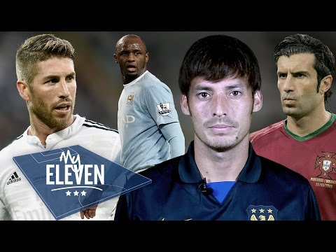 David Silva picks his greatest ever team | Laudrup, Messi, Ronaldo & more!