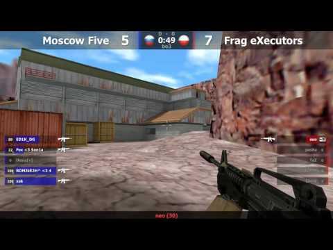 Frag eXecutors vs. MoscowFive @ nuke