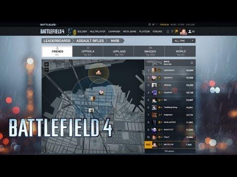 Battlefield 4: Battlelog - официальное видео о возможностях платформы