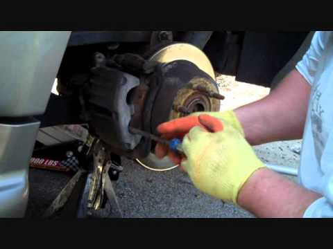 2002 GMC Denali Rear Brake Job Part 1.wmv