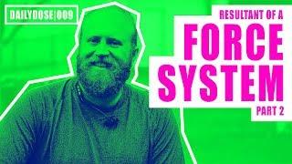 Download Lagu FE EXAM STATICS - RESULTANT OF A FORCE SYSTEM PART 2 | FE EXAM PRACTICE PROBLEM | DAILYDOSE 009 Gratis STAFABAND