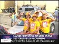 Leonel Fernández recorre [video]