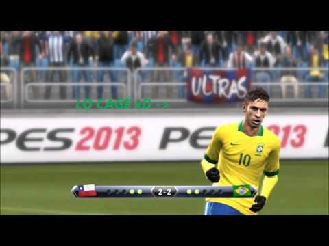 PES 2013 Brazil vs Chile a PENALES/lo que deberia haber pasado?