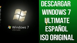 Descargar e Instala Windows 7 ultimate SP1 Full Español 32/64 Bits ISO ORIGINAL|2018| ChArLiE