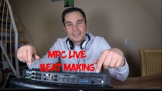AKAI MPC Live: Beat Making (Reggae/Hip Hop) 2019