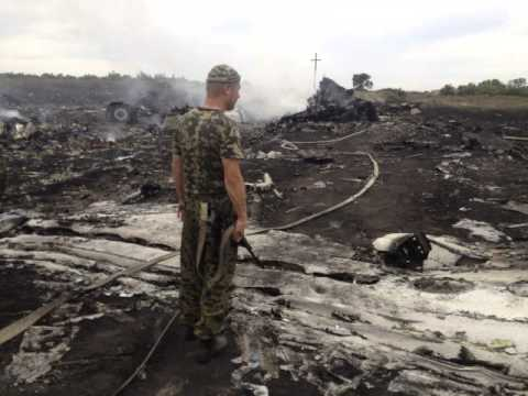 Malaysian airliner downed in Ukraine, 298 dead