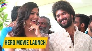 Vijay Deverakonda Hero Movie Launch | Malavika Mohanan | Anand Annamalai | 2019 Latest Telugu Movies