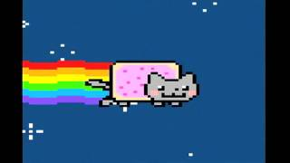 """Nyan Cat """"Nyan""""s for 1 Hour (Super Extended Version!) [HD]"""