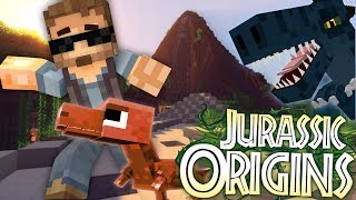 "Jurassic World Origins #1 ""A FALLEN KINGDOM"" (Dinosaur Mod Minecraft Roleplay)"