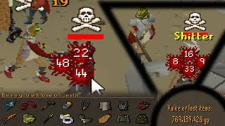 Distracting Pkers by Risking over 200m then 1 Hitting Them!  (OSRS Pking) - Ep1