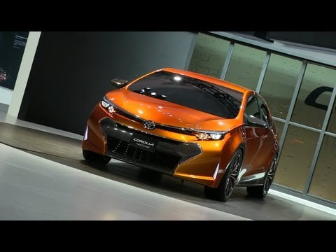 Watch the Toyota Corolla Furia Concept Debut at the Detroit Auto Show