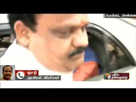 Gnani about Prakash Javadekar meet DMDK leader Vijayakanth