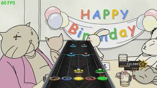 Guitar Hero Chart - Happy Birthday (There she is - Step 2)