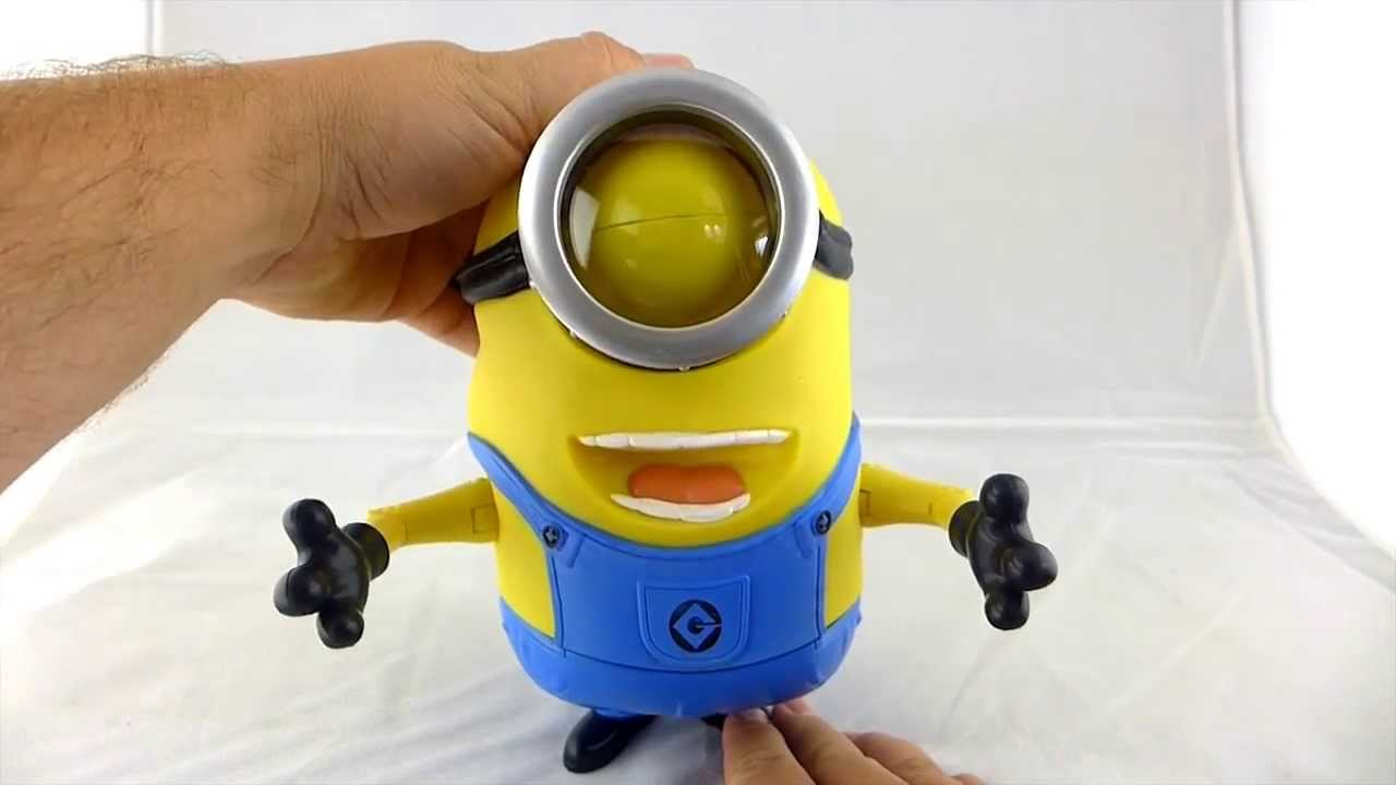 Minion Stuart Figure Minion Stuart 8 Talking