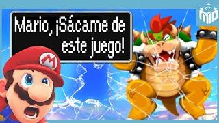 8 Videojuegos de Nintendo que Rompen la CUARTA PARED de forma Notable  N Deluxe