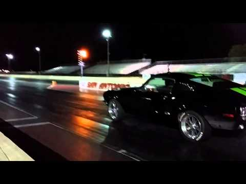 Electric Mustang Fastback - Zombie 222 drag race