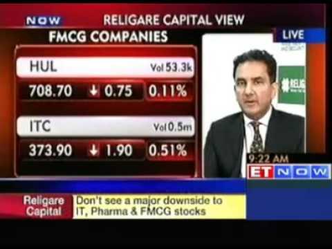 Bullish on IT, FMCG, Pharma Stocks: Religare Cap