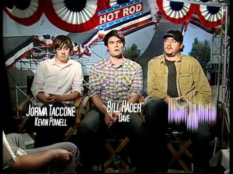 Hot Rod - Interviews With Andy Samberg And Jorma Taccone