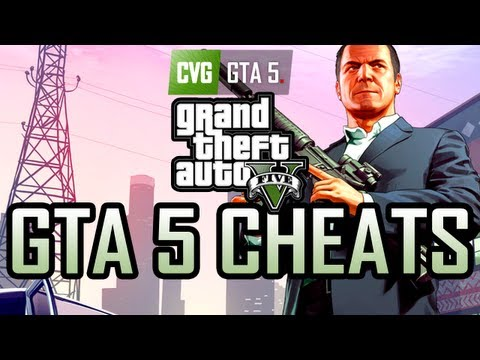 GTA 5 Gameplay: Cheat Codes in Grand Theft Auto 5