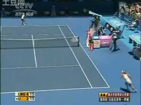 Li Na vs Caroline Wozniacki AO Australian Open 2010 Highlights Part 1