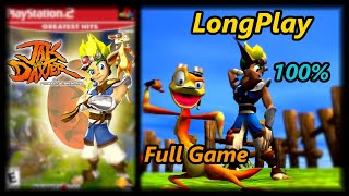 Jak and Daxter: The Precursor Legacy - Longplay 100% Full Game Walkthrough (No Commentary)