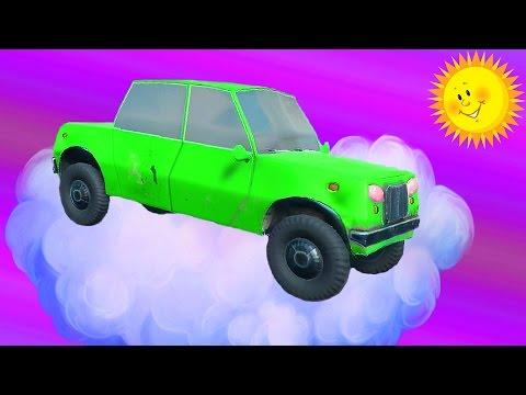 СУМАСШЕДШИЕ МАШИНЫ Игровой мультик про машинки тачки для детей гонки машинки по небесной трассе!!!