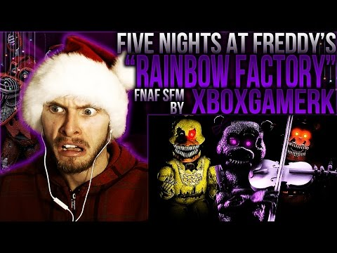 "Vapor Reacts #209 | [FNAF SFM] MLP SONG ANIMATION ""Rainbow Factory"" by XboxGamerK REACTION!!"