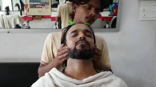ASMR master cracker face massage