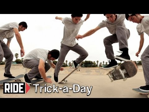 How-To Fakie Inward Heelflip With Reuben Barrack - Trick-a-Day