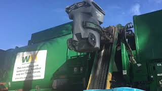 Waste Management Autocar Garbage Truck 103556