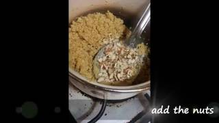 How to make Atta ka Sheera (Hot Wheat Drink)