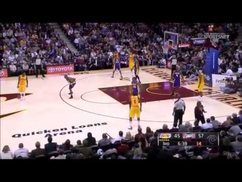 Kobe Bryant 42 Points vs Cavs 2013
