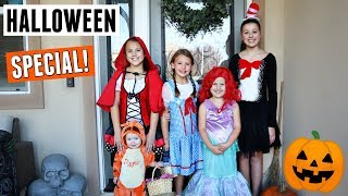 Halloween 2018! Kids Trick Or Treat Vlog
