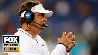 FAU at Ohio State Coach Cam: Lane Kiffin 1st Half | FOX COLLEGE FOOTBALL