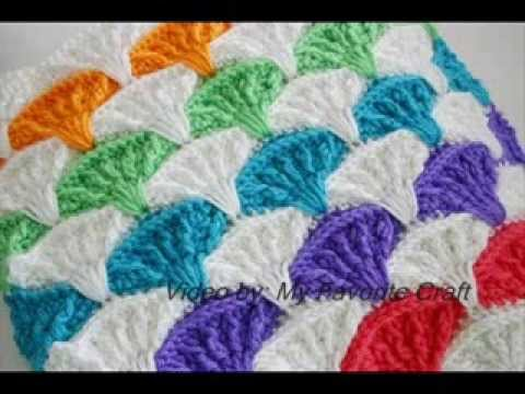... Pillow & Afghan - Crochet Afgan Pattern Presentation - YouTube