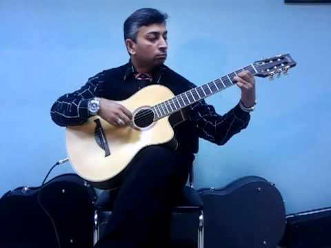 Om Jai Jagdish Hare (on Guitar), Aarti, Classical Guitar Solo, Prarthna video