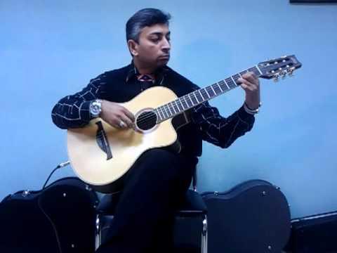 Om Jai Jagdish Hare (on Guitar), Aarti, Classical Guitar Solo, Prarthna video
