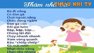 Bài thơ Thăm nhà bà - Bai tho tham nha ba - Thiếu nhi TV