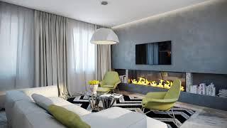 Modern living room → Ideas bright interior ➤ Living room furniture & Decor ➤ Interior design 2019