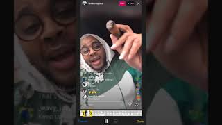 Kevin Gates - Reviews A New Song On Instagram Live (BackEnd)