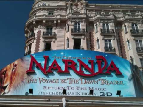 First Poster of Narnia 3: The Voyage of the Dawn Treader in Cannes!!